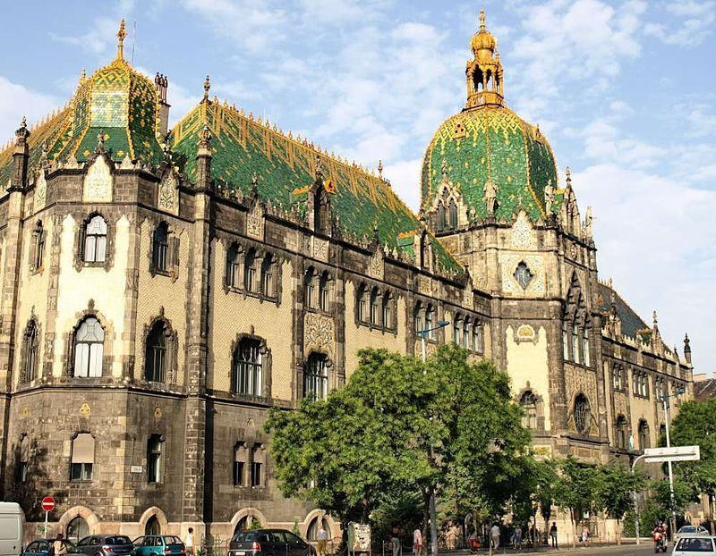Museum of Applied Arts in Budapest, Hungary // Art Nouveau in Europe