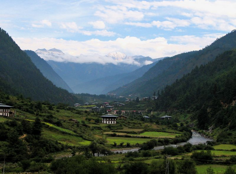 Gorgeous Bhutan, one of the most well-hidden gems in Asia.