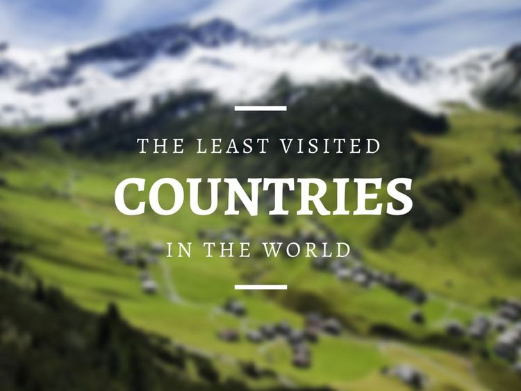 The-Least-Visited-Countires-in-the-World
