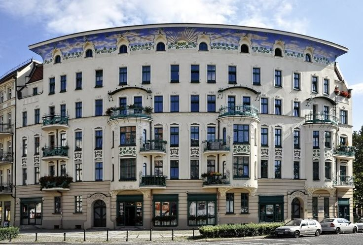 Prusa building in Wroclaw, Poland // Art Nouveau in Europe