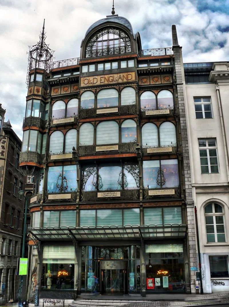 The Old England House in Brussels // Art Nouveau