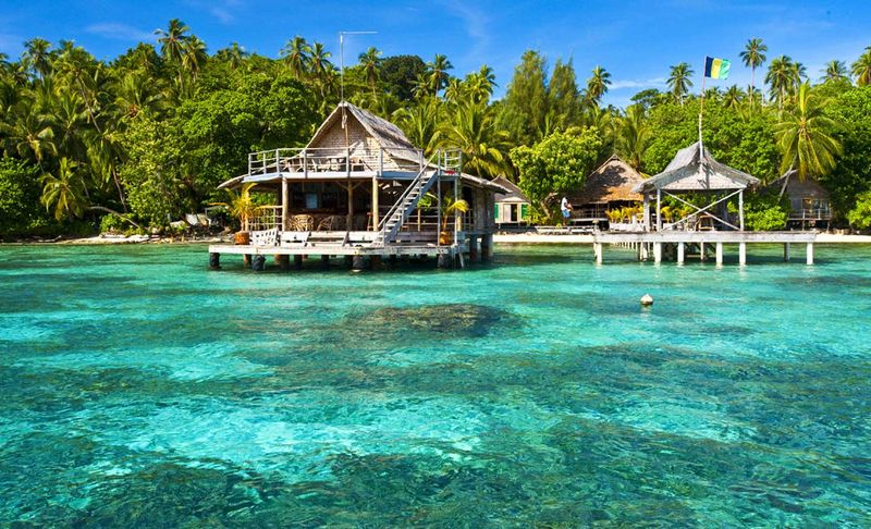 If you've been looking for the paradise lost, you've finally found it. The Solomon Islands is a hidden retreat for beach-lovers who are looking for blue, peace and tranquility.