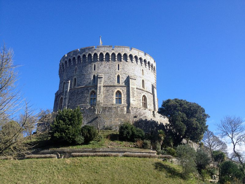 The tower of Windsor Castle // England