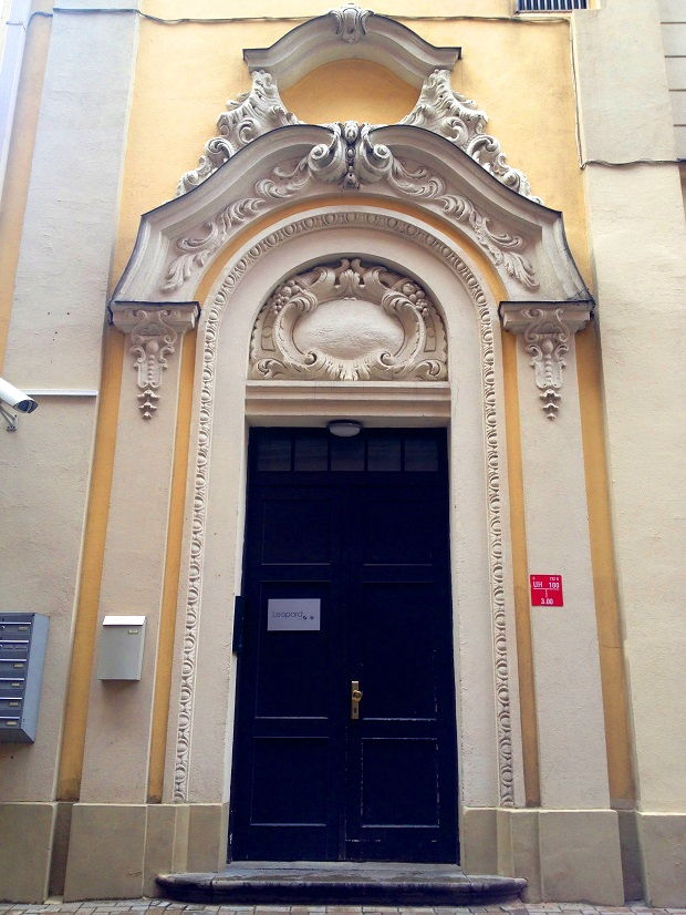a door in Riga