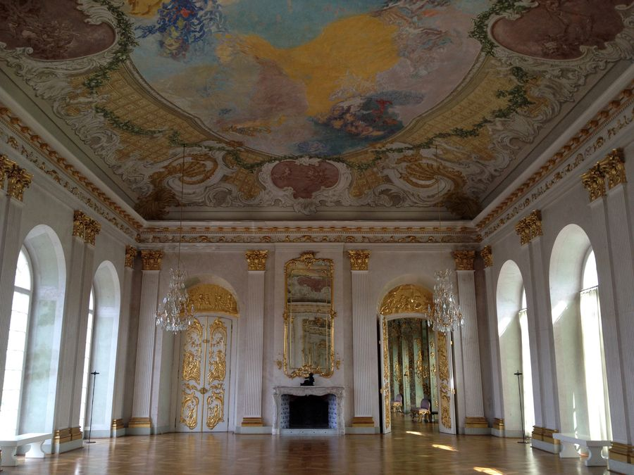 Inside of the Charlottenburg Palace in Berlin