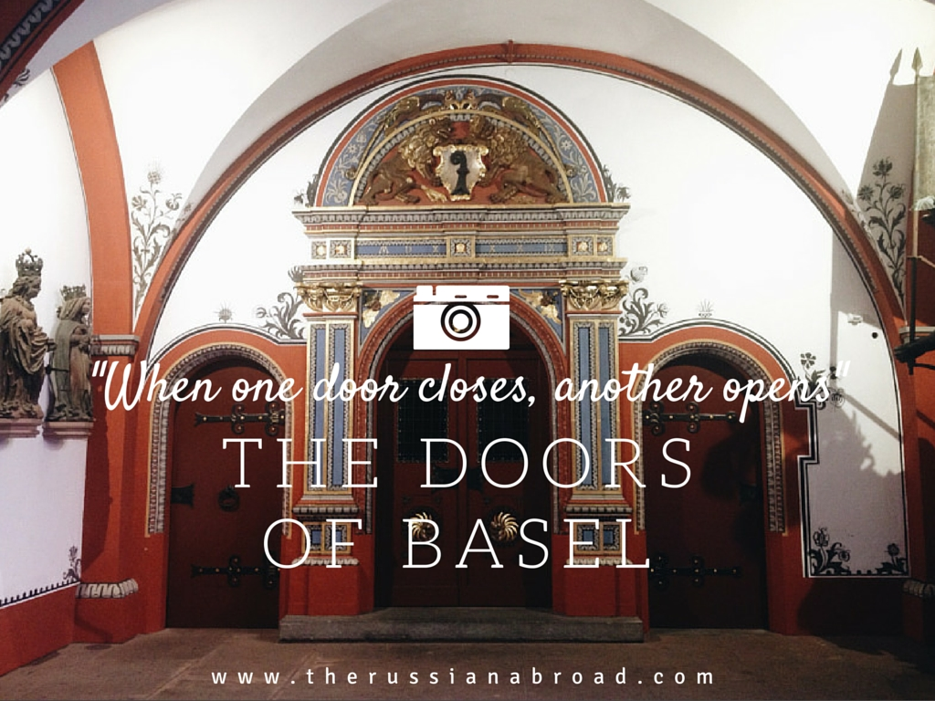 Basel, Switzerland, is famous for many things. And one of them - is its beautiful doors!