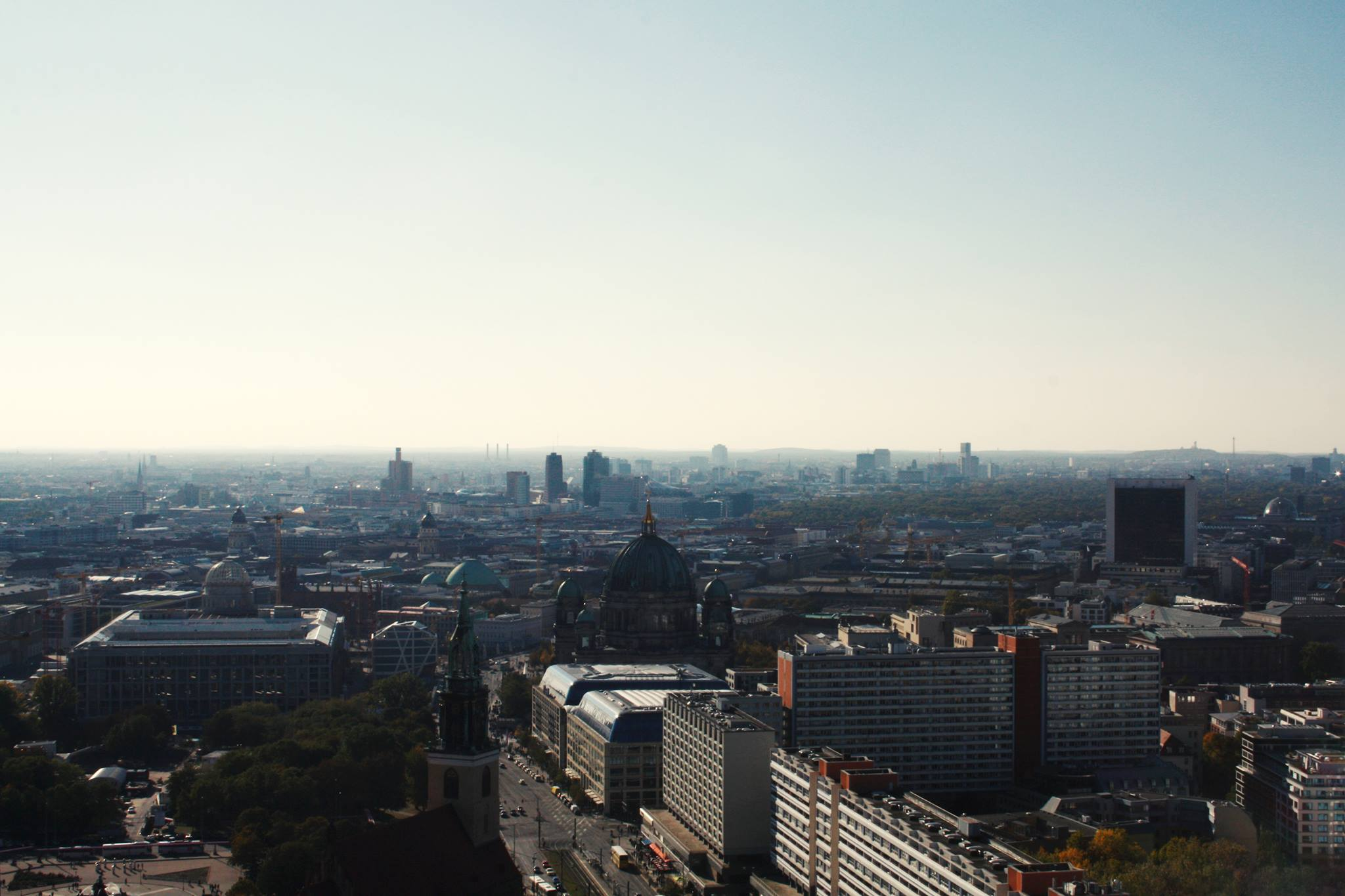 The view over Berlin