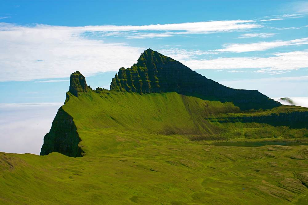 Hornbjarg, the remotest sea cliff in Iceland