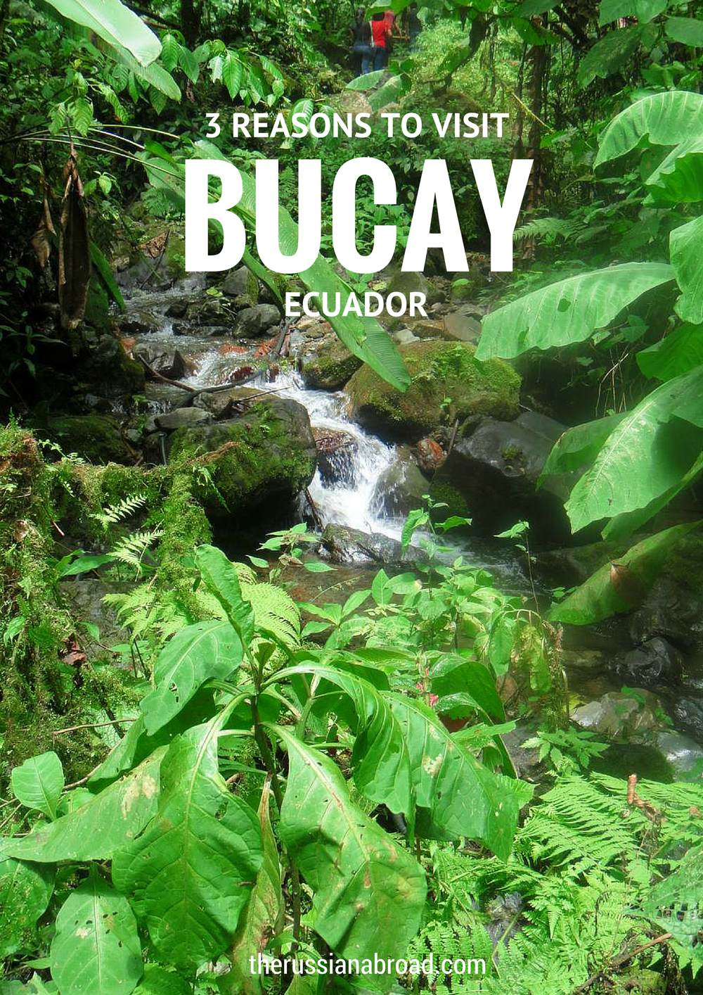 "Why should you visit Bucay in Ecuador? Now, here's why! Hiking, trekking, rafting - and everything amazing ending with ""ing'!"