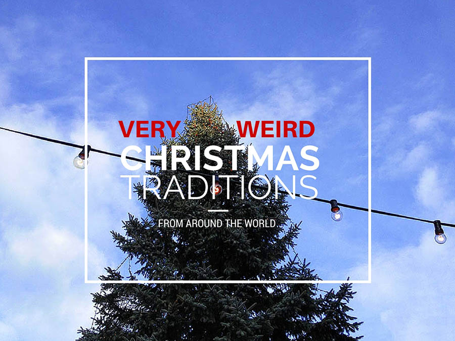 Weird Christmas traditions from around the world