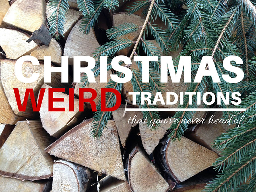 18 super weird Christmas traditions from around the world!
