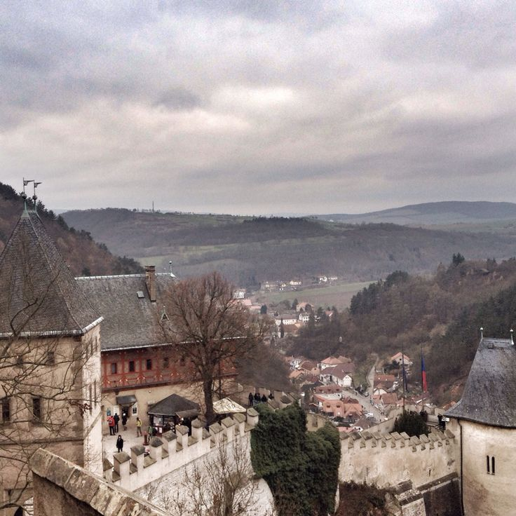 Karlstejn Castle was founded in the 14th century under the reign of Charles IV — the famous king of Bohemia and the Holy Roman Emperor whom we're all owing the existence of the notorious Charles University and the gorgeous Charles Bridge in Prague.