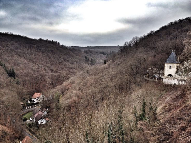 The view from the Karlstejn Castle, Czech Republic