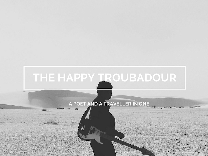 the happy troubadour