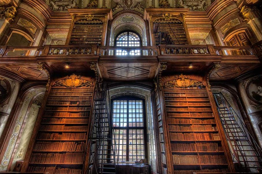 One of the most beautiful libraries in the world: Austrian National Library