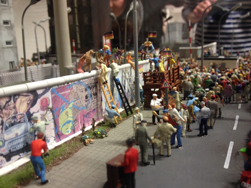 Inside the Miniatur Wunderland in Hamburg
