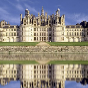 Chateau de Chambord, a castle in France