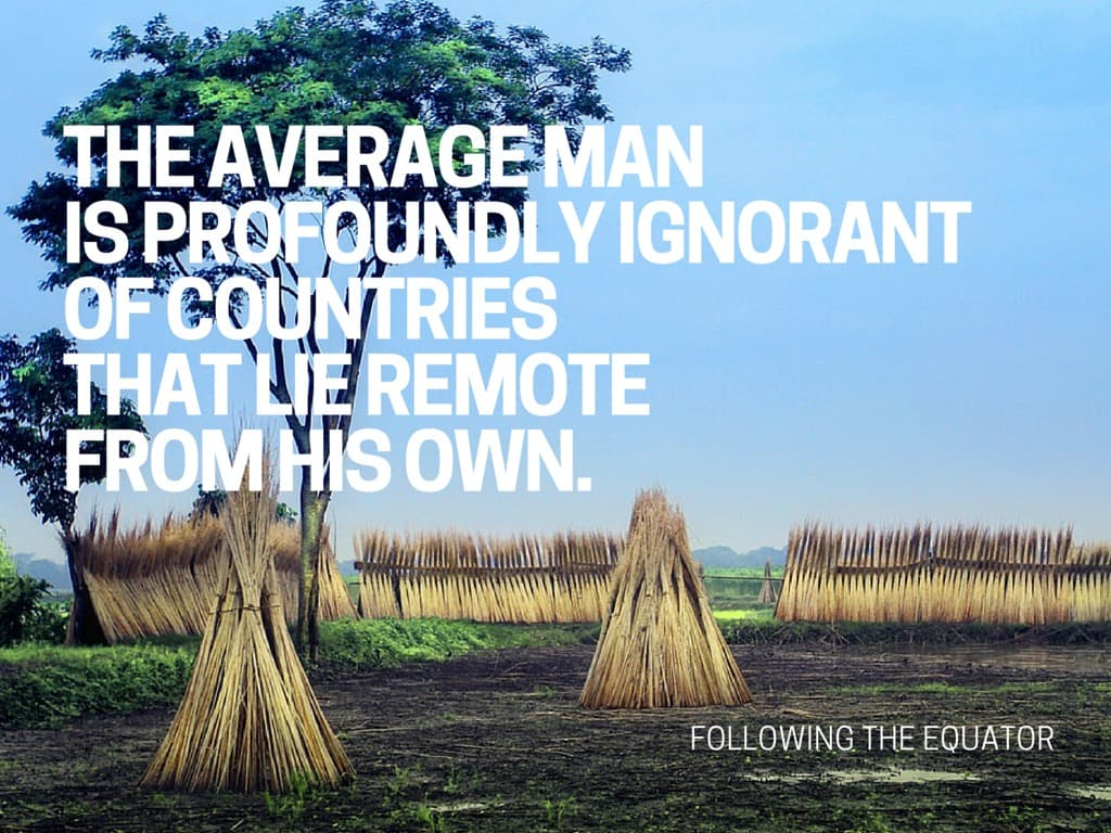 10 lovely travel quotes by Mark Twain
