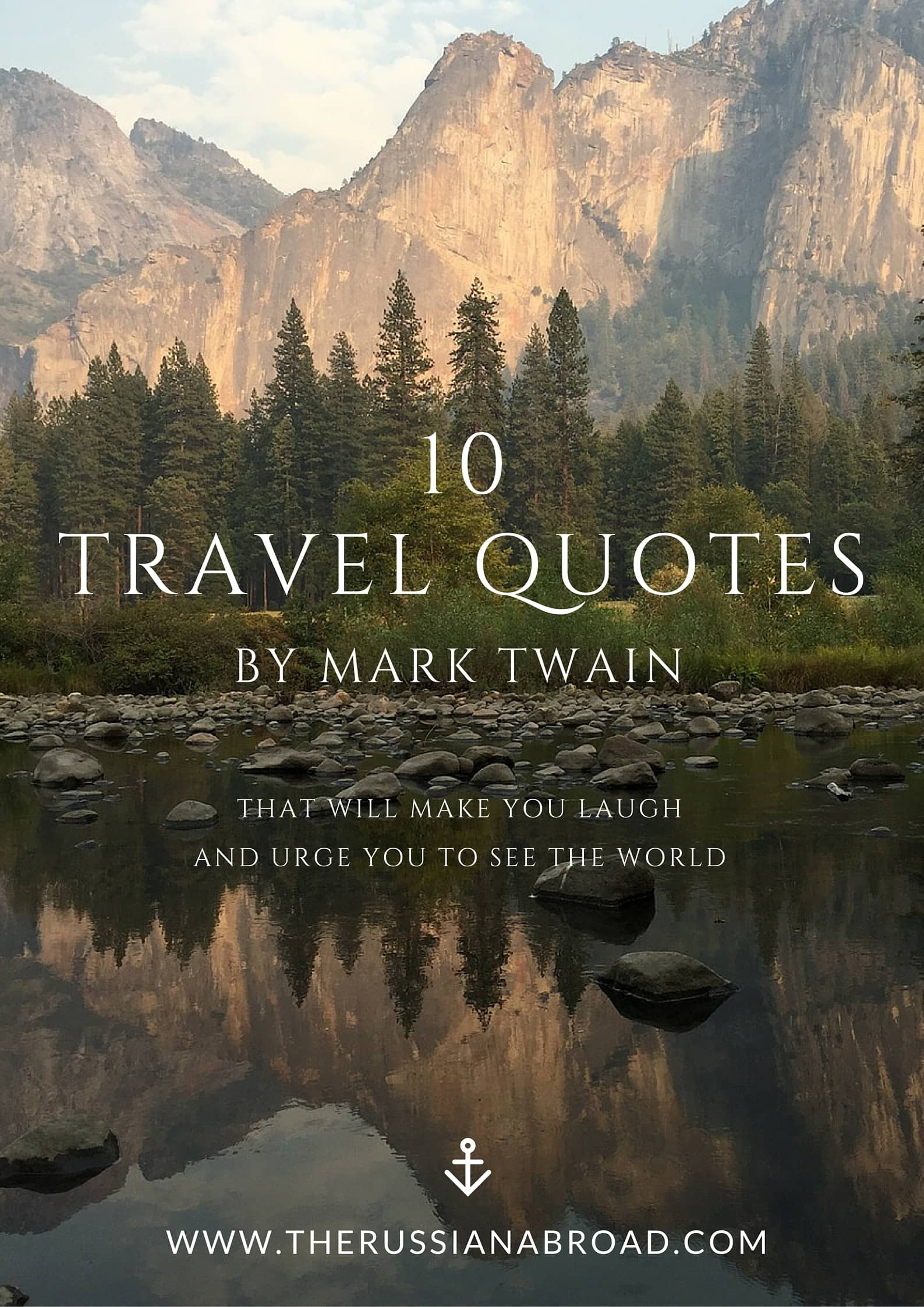 10 witty travel quotes by Mark Twain