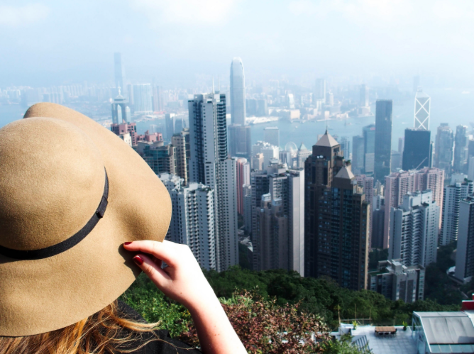 Hong Kong is the favourite travel destination of Veera Bianca