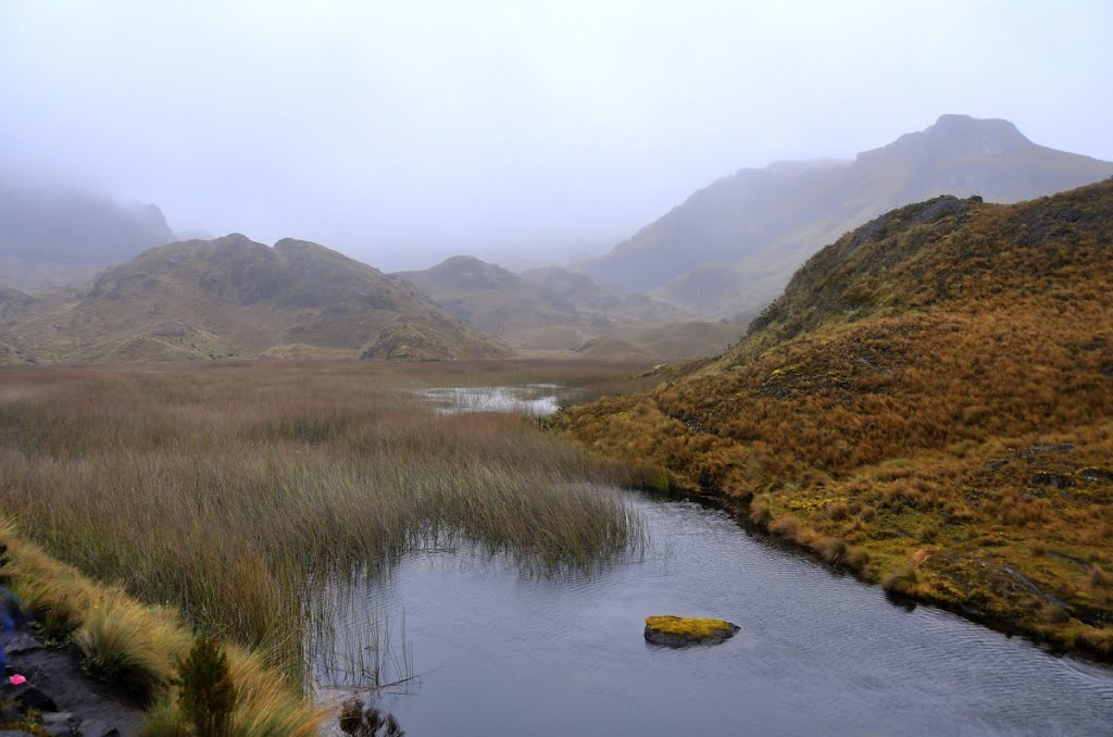 Laguna Totoras... one of the most beautiful lagoons in El Cajas National Park, Ecuador