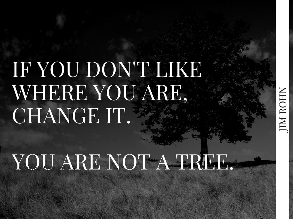 if you don't like where you are, change it. you are not a tree.-2-min