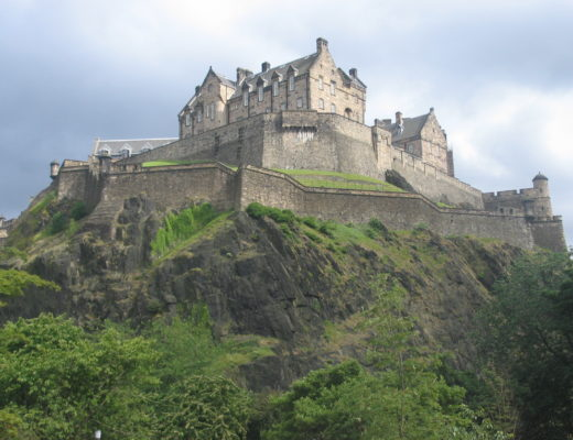 Edinburgh Castle, Scotland, is one of the most haunted castles in Europe.