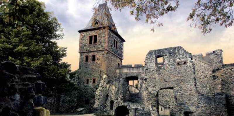 Frankenstein Castle, Germany, is one of the most haunted castles in Europe.