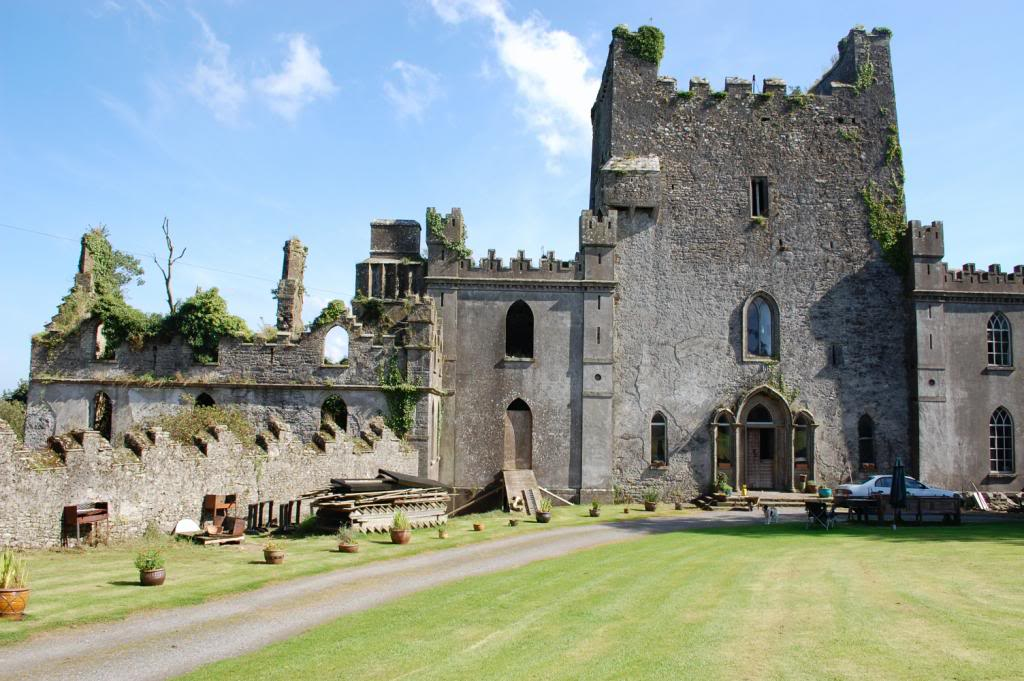 Leap Castle, Ireland, is one of the most haunted castles in Europe.