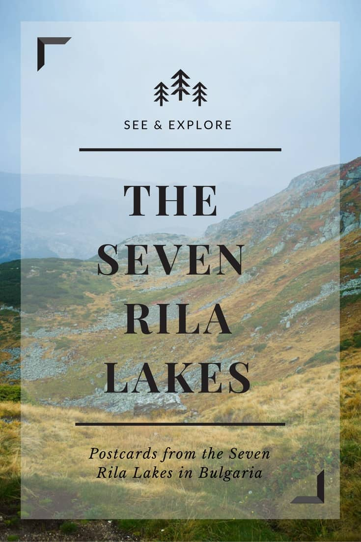 Hiking around the Seven Rila Lakes in Bulgaria